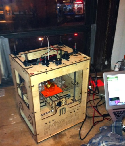 Makerbots and RepRaps cometh.