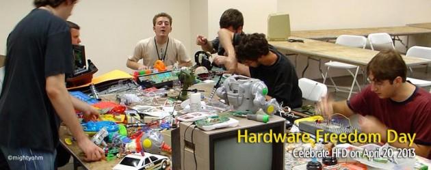 Hardware Freedom Day April 20