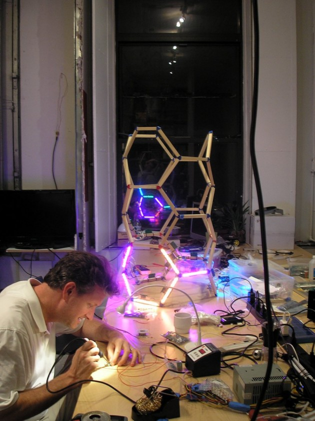 Color Life – Building Our Interactive Digital Sculpture for FIGMENT 2013