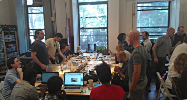 Kickstarter visited Hack Manhattan